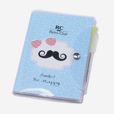 Disok2685 libreta moustache