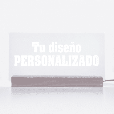 lumilove lámpara led personalizada