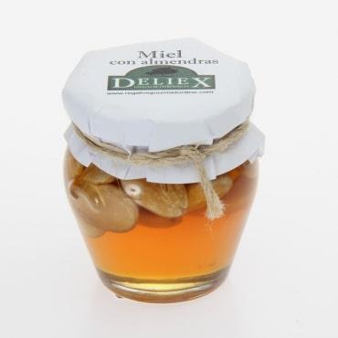 Deliex1600 miel almendras tarro