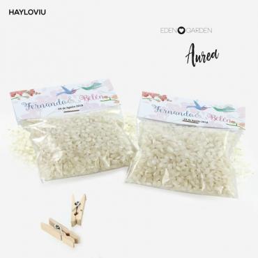 bolsa arroz HAYLOVIU aurea