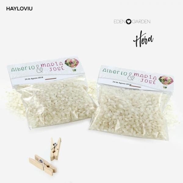 bolsa arroz HAYLOVIU hera