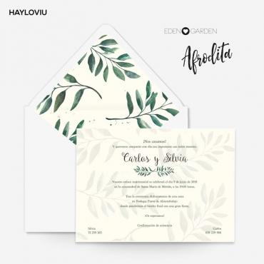 Invitacion HAYLOVIU afrodita