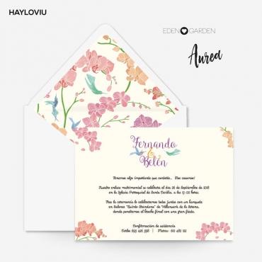 Invitacion HAYLOVIU aurea