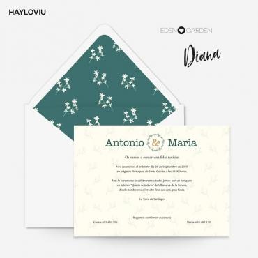 Invitacion HAYLOVIU diana