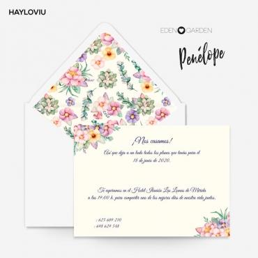 Invitacion HAYLOVIU penelope