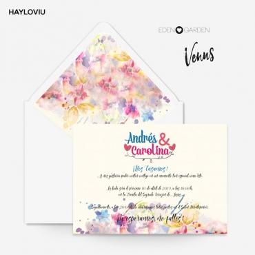 Invitacion HAYLOVIU venus